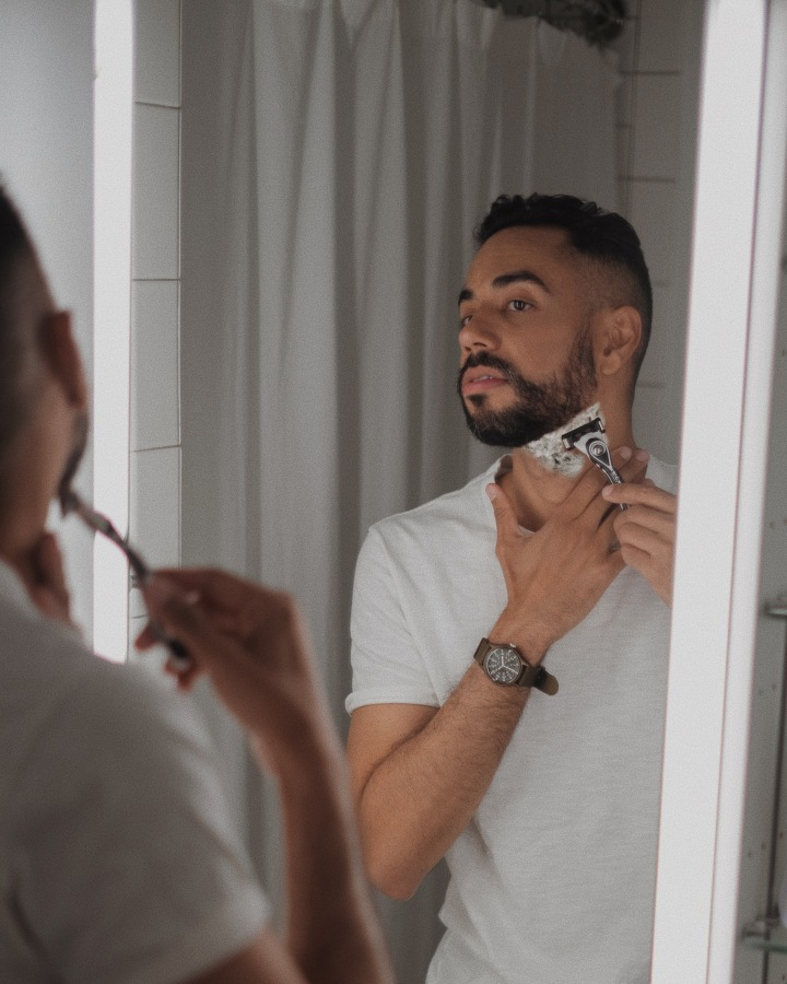 Taking care of the earth and facialhair?